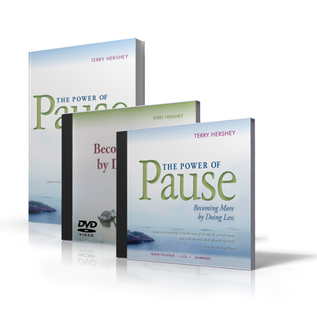 The Power Of Pause (Audio Book & DVD)